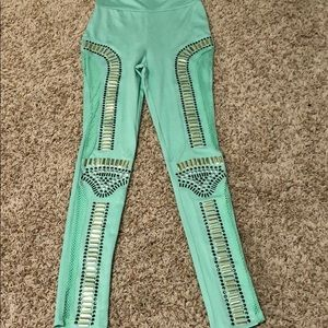 Pants - Studded leggings